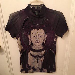 Rare vintage Vivienne Tam Buddha top